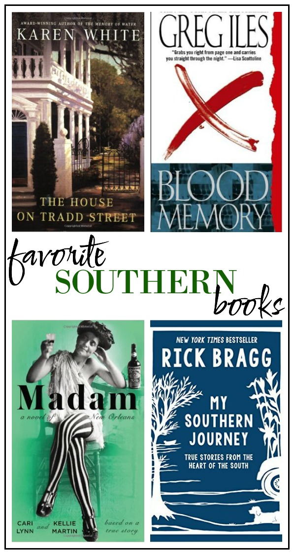 Favorite Southern Books: List of amazing books based in the south with unforgettable characters and plots!