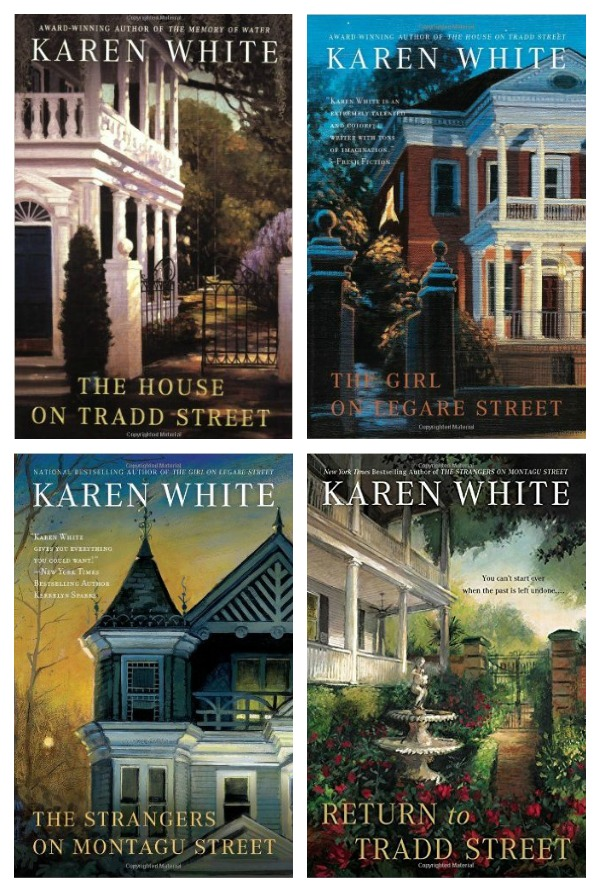 Favorite Southern Books: Karen White's The House on Tradd Street Series - set in Charleston's historic district with a ghost or two.