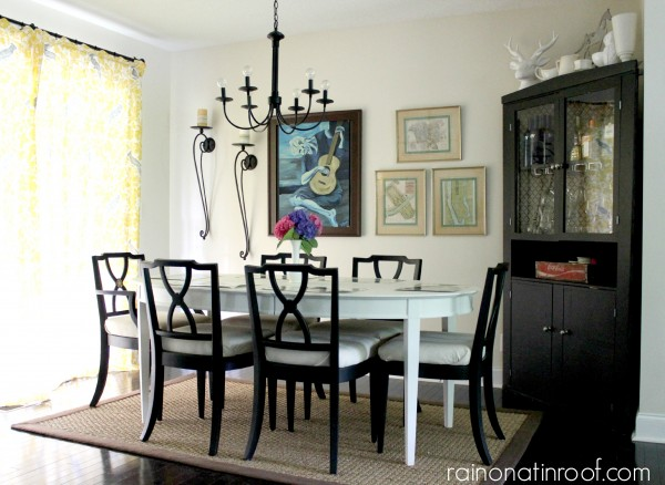 Spring Home Tour: The Evolution of Style | Dining Room Decorating Ideas