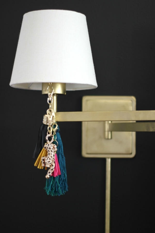 Lamp Ideas - add tassels to lamps.