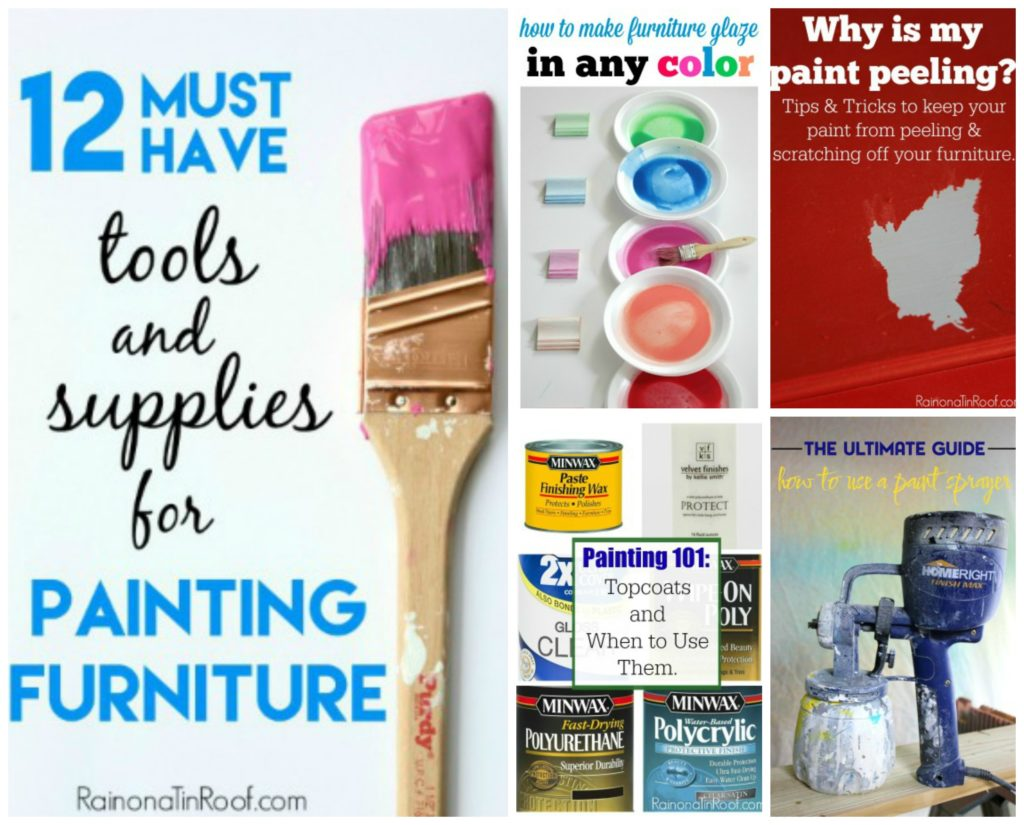 How To Paint Furniture Tips And Tricks