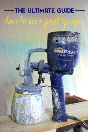 This post has THE best tips for not only how to use a paint sprayer but also how to paint furniture in general. If you're a furniture rehabber, don't miss it!