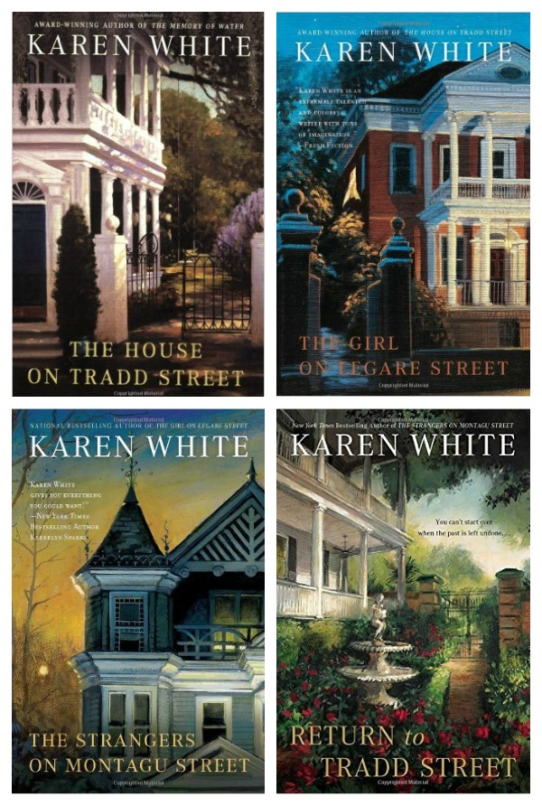 """The Tradd Street Series - set in Charleston, each book is about the tale of a ghost whose history must be determined. Some of my favorite """"ghost"""" stories by far."""