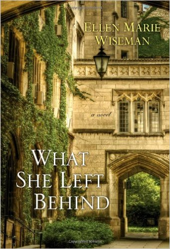 What She Left Behind - a tale of a teenager whose mother was sent to prison for killing her father. The teenager doesn't realize the real reason why her mother did what she did.