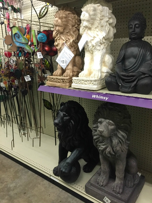 Lion Statues at At Home