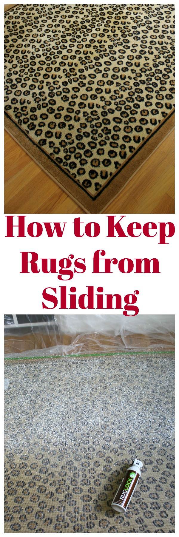 How to Keep Rugs from Sliding | Rug Slipping Fix | How to Keep Rugs in Place | DIY Rug Idea | How to Keep Rugs from Slipping