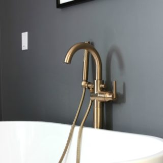Delta Champagne Bronze Faucets - Rain on a Tin Roof