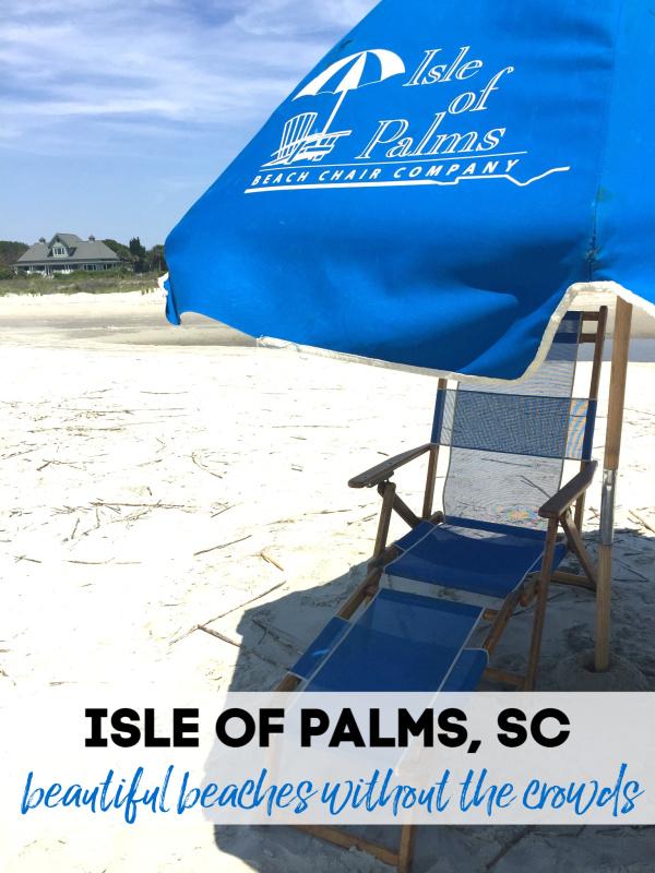 Isle of Palms Beach in South Carolina