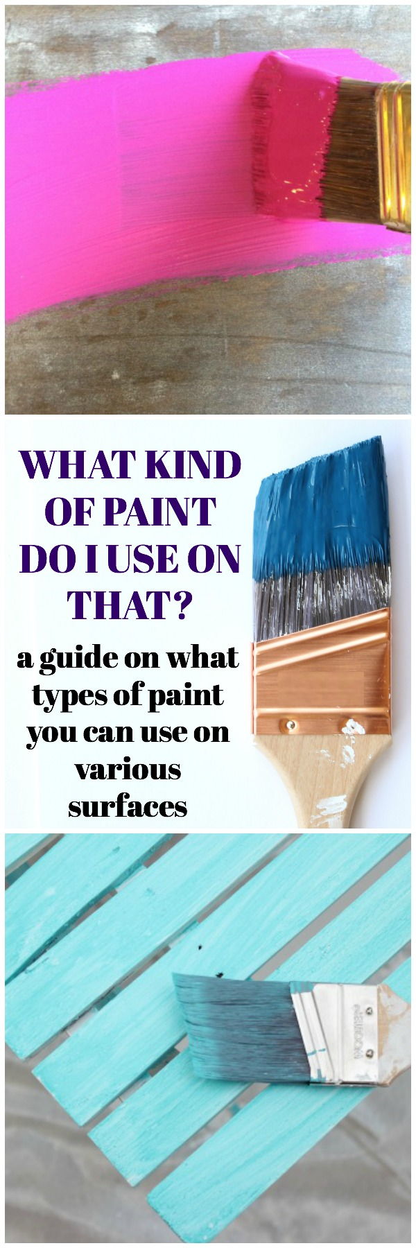 Types of Paint - Best Paint for Wood Furniture