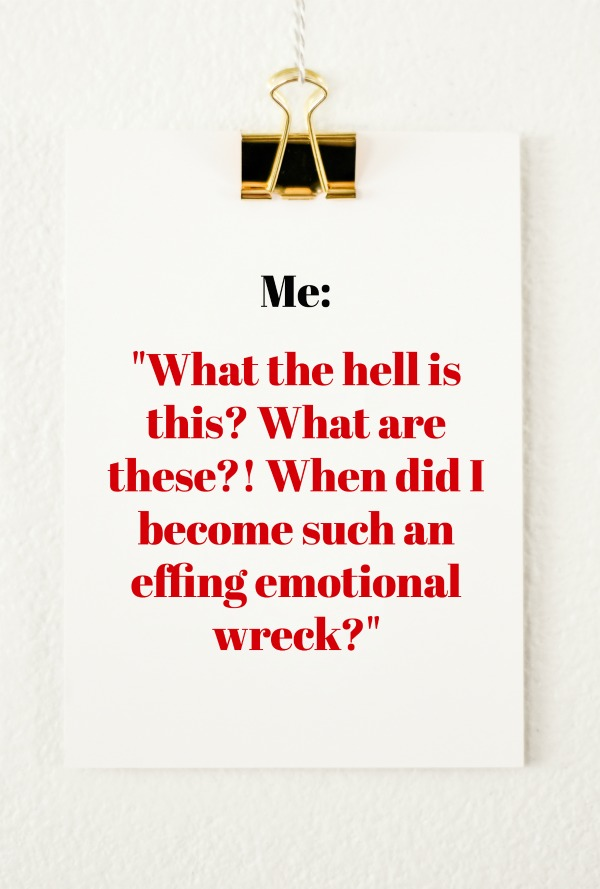 Freak Show Friday: Effing tears.