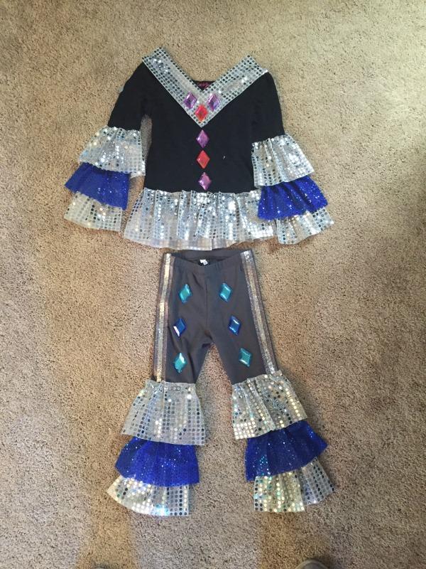 Super Trouper Dancing Queen Outfit