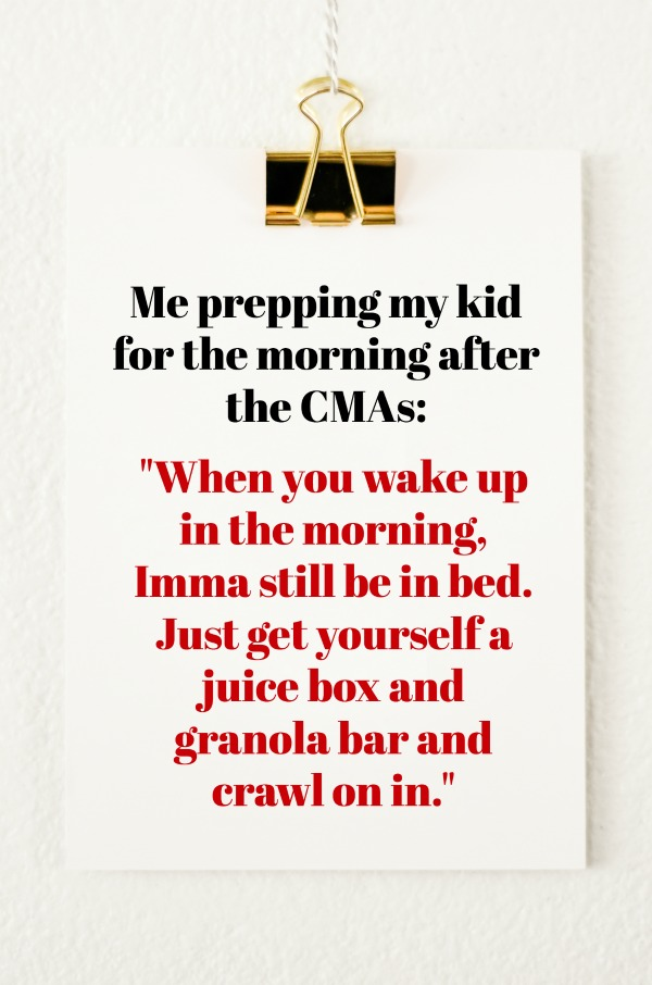 CMA Awards Emotional Roller Coaster