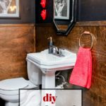 DIY Wood Paneled Waiscoting | Simple Wall Treatment | Simple Wainscoting