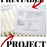 Free Printable Project Planner for Room Makeovers