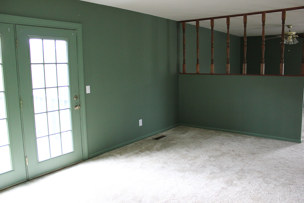 Master Bedroom Sitting Area Before
