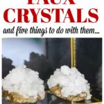 How to Make Crystals | How to Make Geodes | DIY Faux Crystals | DIY Faux Gemstones | DIY Faux Geode | DIY Faux Gems | DIY Crystals | DIY Geode