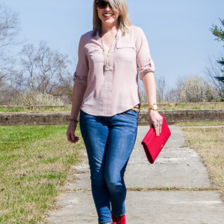 Casual Chic Style | Casual Chic Outfit Spring and Fall | Red Suede Boots Outfit | Casual Cute Outfits | Casual Chic Fashion