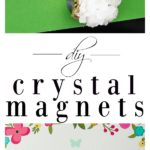 How to Make Crystal Magnets | DIY Crystal Magnets | DIY Crystal Crafts | Easy Crafts | How to Make Crystals DIY | Crystal Magnets