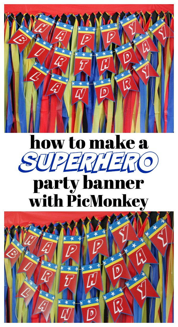 Picmonkey tutorial for party decor