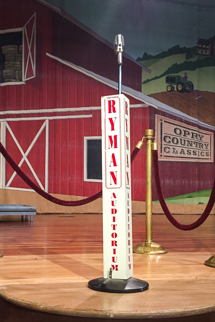 A Weekend in Nashville: Things to Do, Places to Go and Things to See in Nashville, Tennessee | The Ryman Auditorium