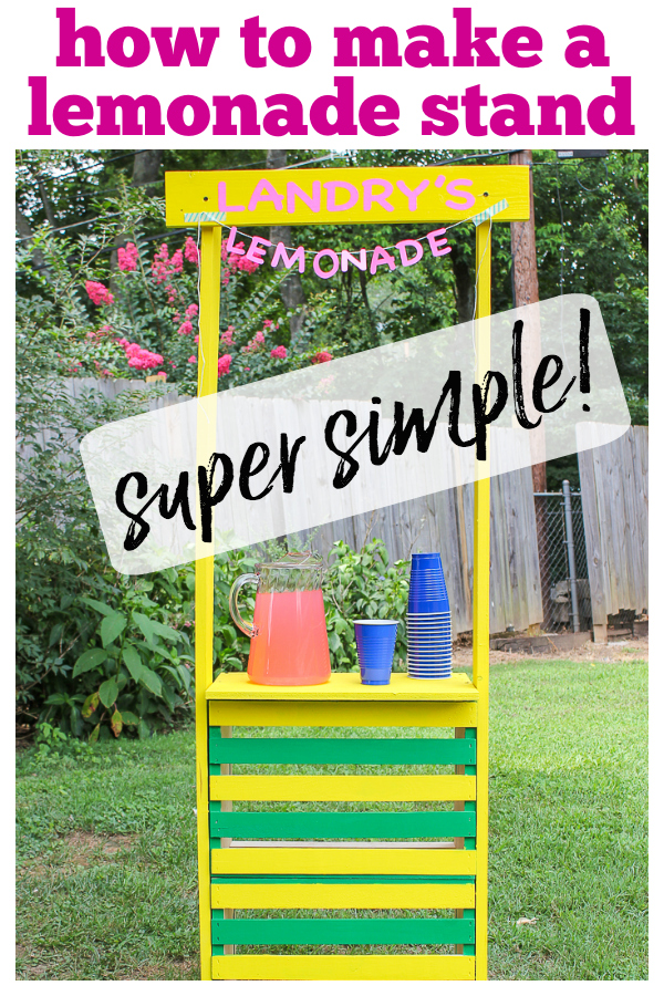 Build a Lemonade Stand Using Crates - Easy - Rain on a Tin Roof