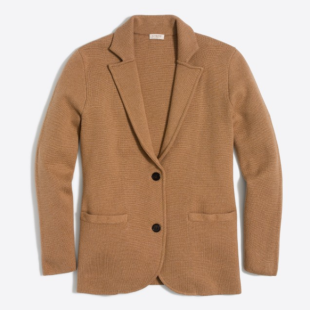 Best Sweaters for Fall Under $50: A Blazer Sweater, dressy and cozy