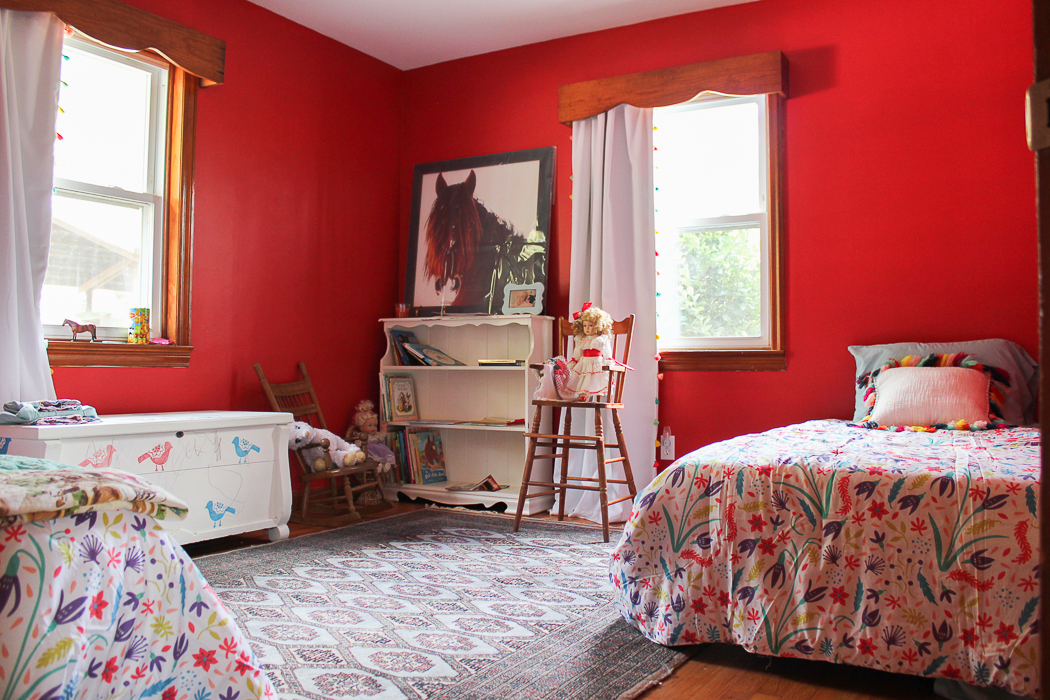 Farmhouse Updates: The Circus' Room