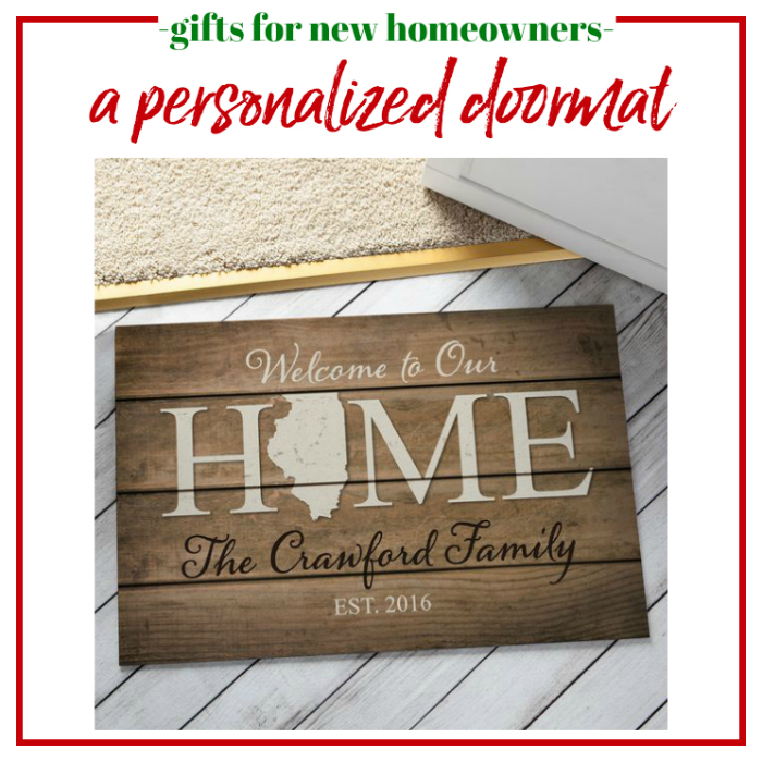 Gifts for New Homeowners - Personalized Doormat