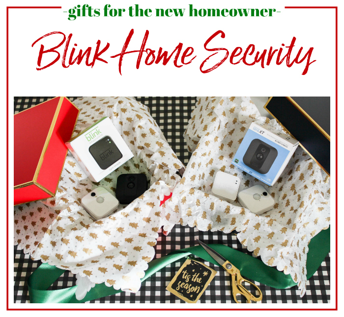 Gift Ideas for New Homeowners - Blink Home Security, also a great gift idea for renters!