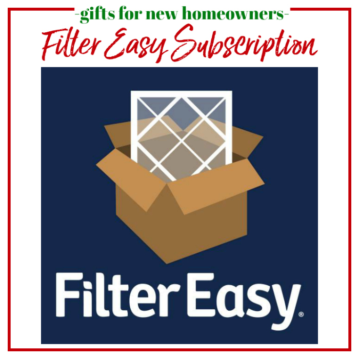 Gifts for New Homeowners - Filter Easy Subscription