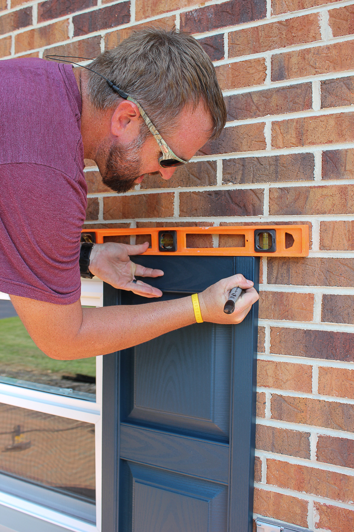 How to Install Shutters on Brick