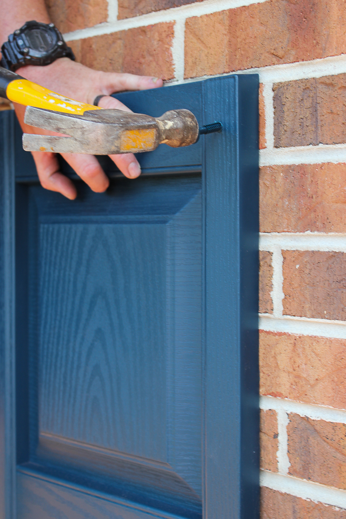 How to Install Vinyl Shutters