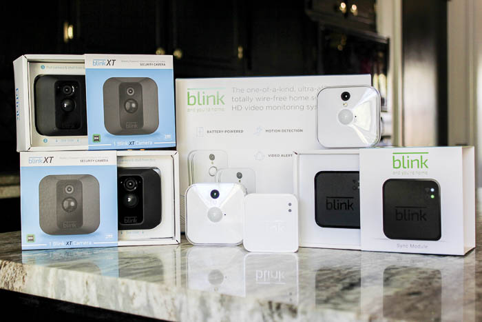 Simple Home Security with Blink - easy DIY install home security system with no wires or monthly fees.