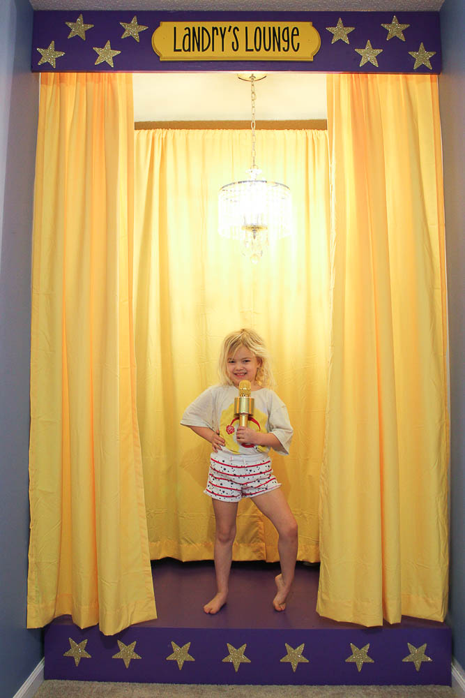 Easy DIY Children's Stage
