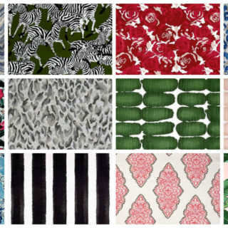 Cheap Fabric By the Yard - Affordable Home Decor Fabrics - Rain on a Tin Roof