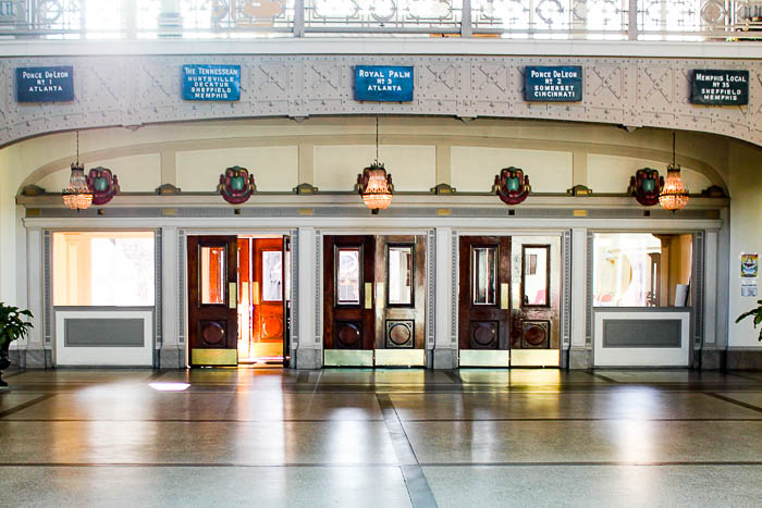 Where to Stay in Chattanooga - The Chattanooga Choo Choo Hotel, inside Terminal Station.
