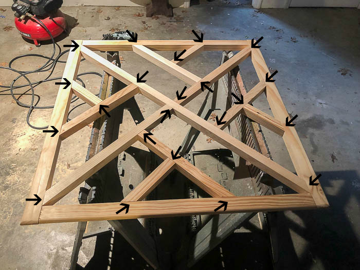 How to Make a Chippendale Desk from readymade chippendale panels - an easy desk plan idea.