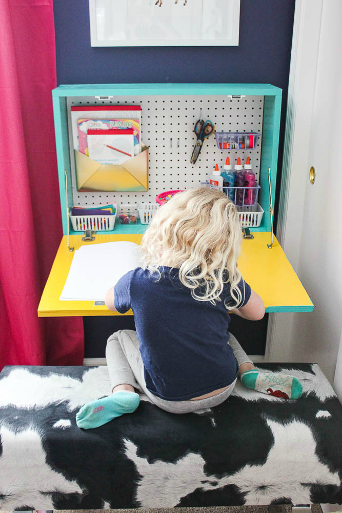 Drop Down Desk for Kids
