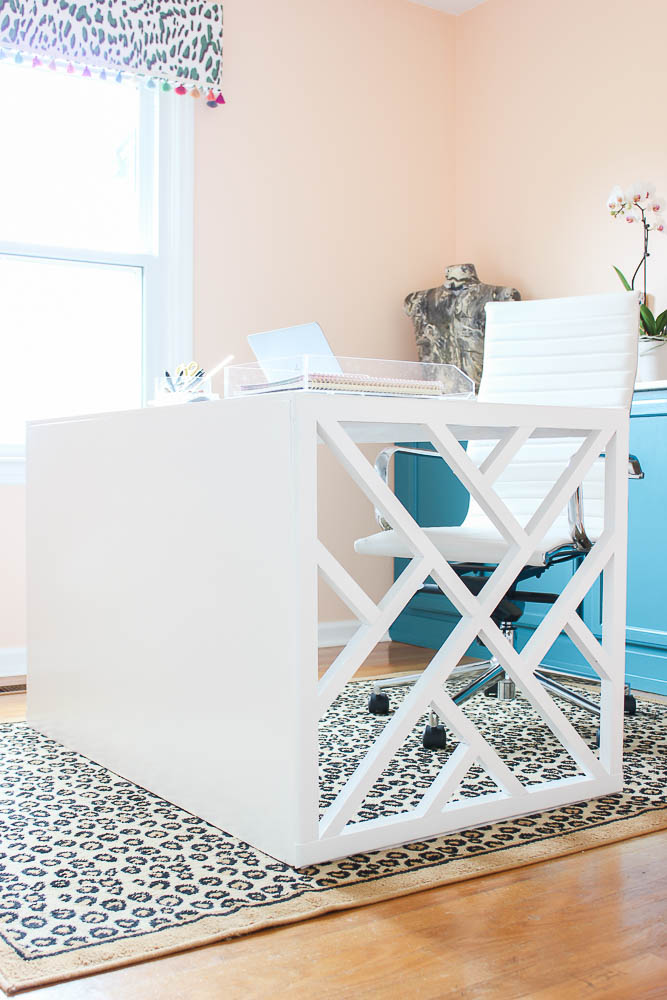 How to Build a Desk: Easy DIY Chippendale Desk Plan