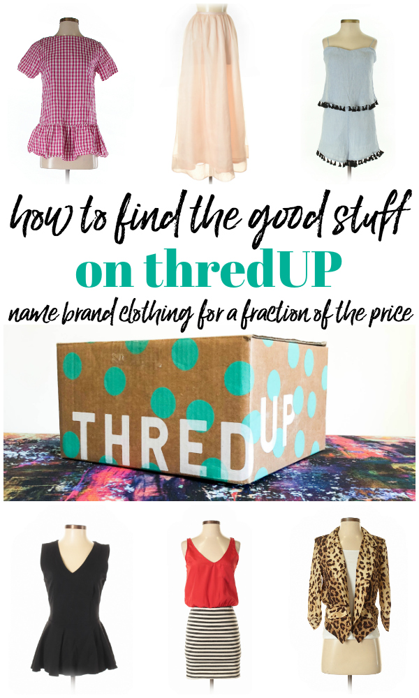 thredUP Reviews - How to find the good stuff - Rain on a Tin Roof