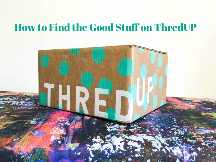 thredUP reviews - Tips for Finding the Good Stuff on thredUP - Rain on a Tin Roof