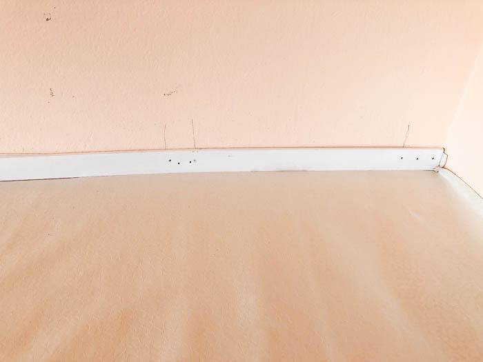DIY Upholstered Countertop