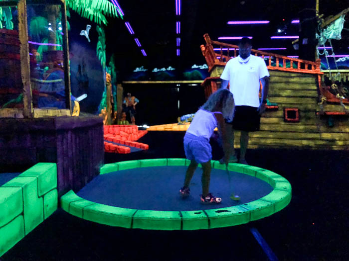 Things to do in Pigeon Forge, TN - Pirate Golf