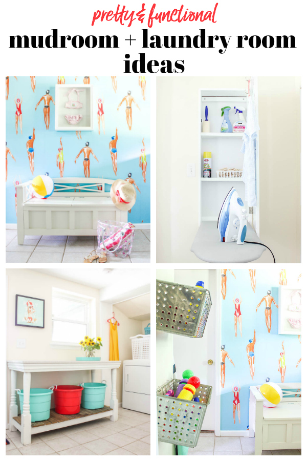 Mudroom and Laundry Room Makeover Ideas