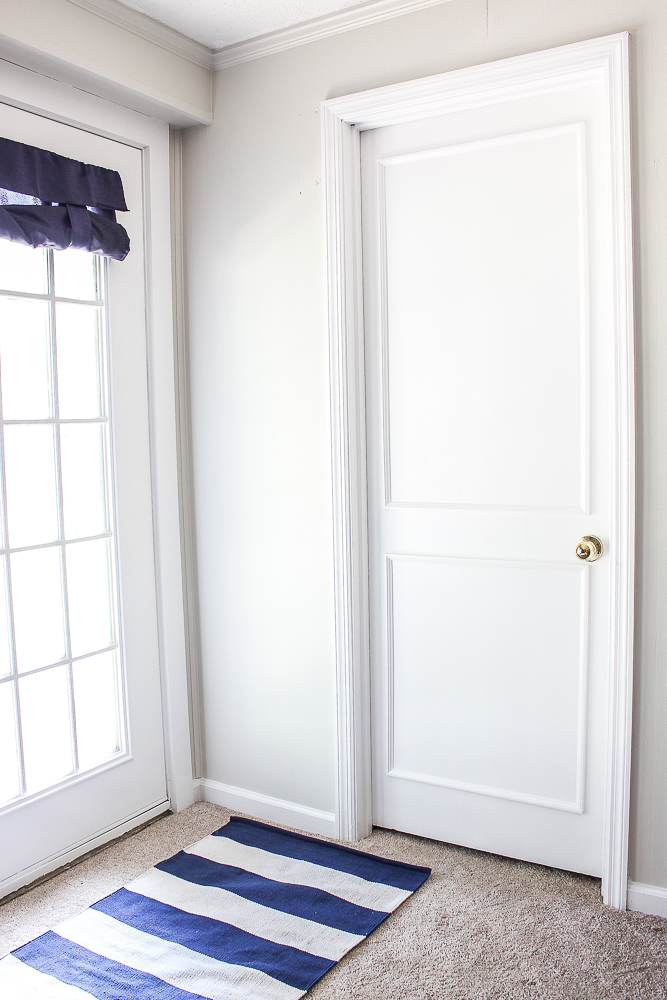 Covering Louvered Closet Doors