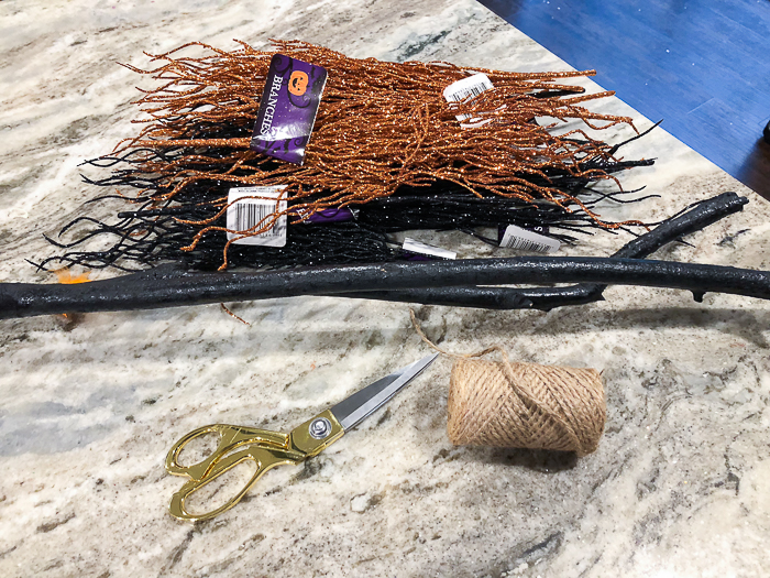 How to Make a Witches Broom for Halloween