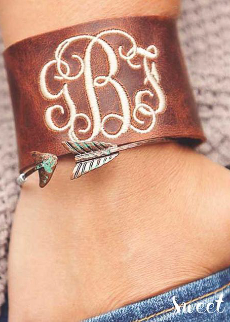 Monogrammed Gifts for Her