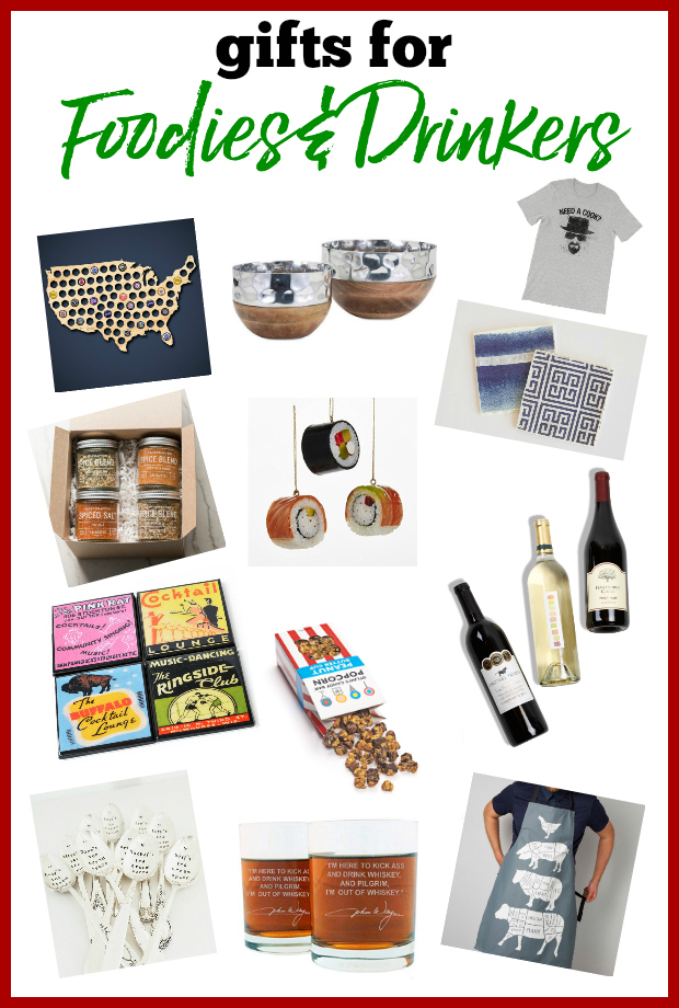 Gifts for Foodies and Gifts for Drinkers