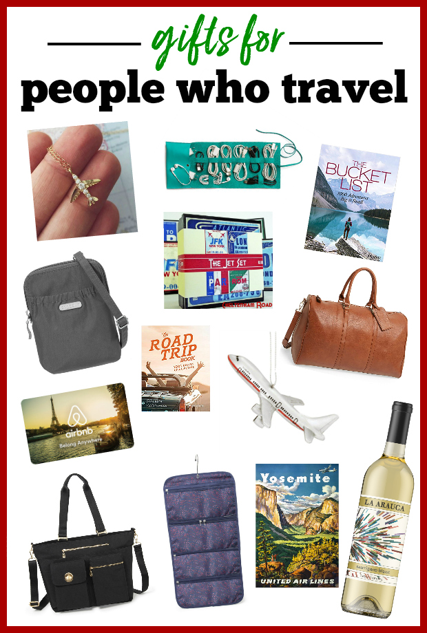 Best Gift Ideas for People Who Travel