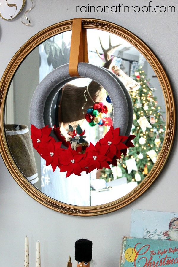 Easy Christmas Decoration Ideas with Wreaths